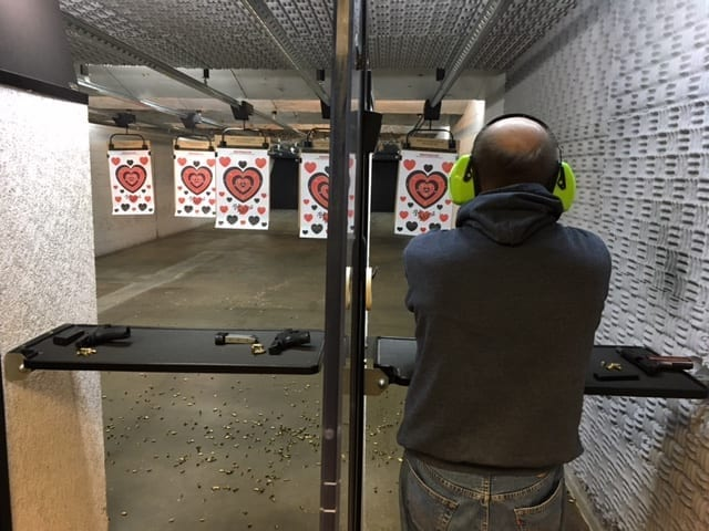 Valentines Day Pistol Speed Dating Event
