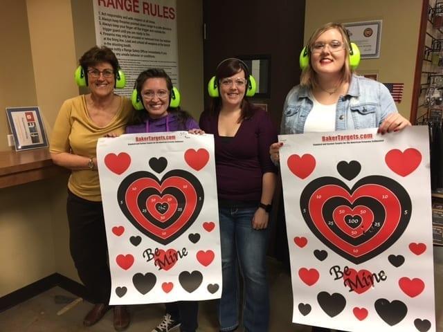 Valentines Day Pistol Speed Dating Event