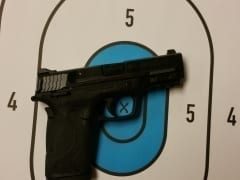 S&W EZ Shield .380 for Rent in Denver by Bristlecone Shooting