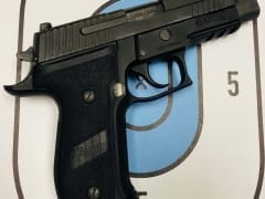 Sig Sauer P226 Tactical 9mm for Rent in Denver by Bristlecone Rentals