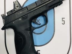 Smith & Wesson M&P9 CORE w-RMR 9mm for Rent in Denver by Bristlecone Rentals
