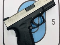 Springfield XDM compact .45ACP for Rent in Denver by Bristlecone Rentals