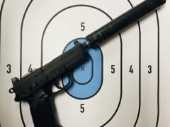 FN FNX-45 .45ACP suppressed for Rent in Denver by Bristlecone