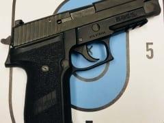 Sig Sauer P225 MK-25 9mm for Rent in Denver by Bristlecone Rentals