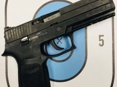 Sig Sauer P250 .45 ACP for Rent in Denver by Bristlecone Rentals