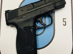 Smith & Wesson M&P Shield .45 ACP for Rent in Denver by Bristlecone Rentals