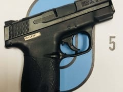 Smith & Wesson M&P Shield 9mm for Rent in Denver by Bristlecone Rentals
