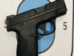 Smith & Wesson M&P Shield Performance Center 9mm for Rent in Denver by Bristlecone Rentals